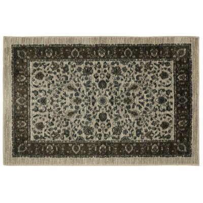 Millstone Sand/Cream Area Rug Rug Size: Rectangle 26 x 310