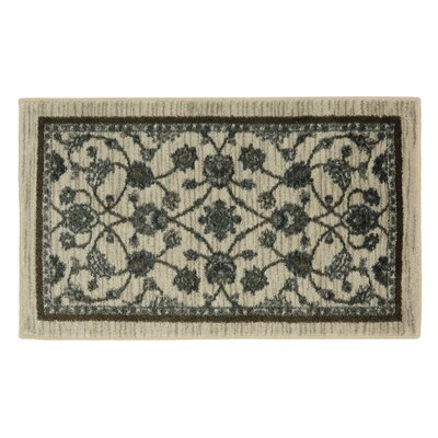 Millstone Cream/Brown Area Rug Rug Size: Rectangle 26 x 310