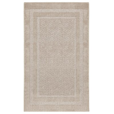 Reinhold Oatmeal Area Rug Rug Size: Rectangle 5 x 7