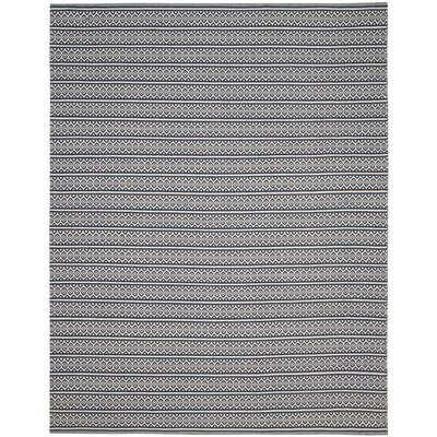 Parthena Hand-Woven Gray Area Rug Rug Size: Runner 23 x 8