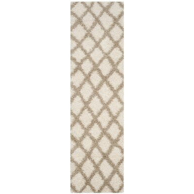 Unadilla Ivory/Beige Area Rug Rug Size: Rectangle 8 x 10