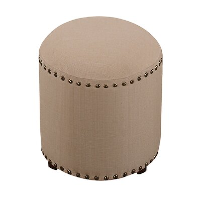 Reese Backless Vanity Stool Color: Cream