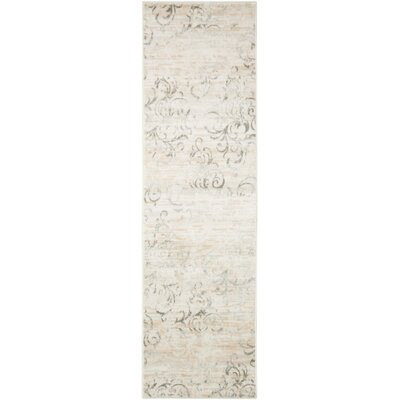 Culver Bone Area Rug Rug Size: Runner 22 x 76