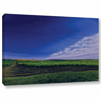 Late Spring Vines Photographic Print on Wrapped Canvas Size: 12