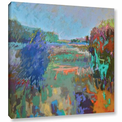 Color Field 45 Painting Print on Wrapped Canvas Size: 10