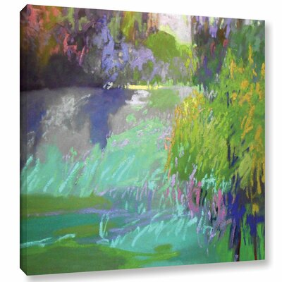 Flowing Through Painting Print on Wrapped Canvas