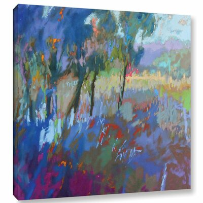 Color Field 44 Painting Print on Wrapped Canvas Size: 10