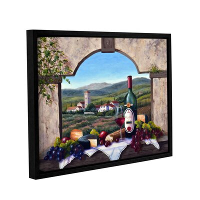A Tuscany Vista Framed Painting Print on Wrapped Canvas