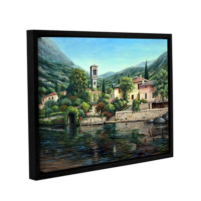 Symbol of the Lake Framed Painting Print on Wrapped Canvas