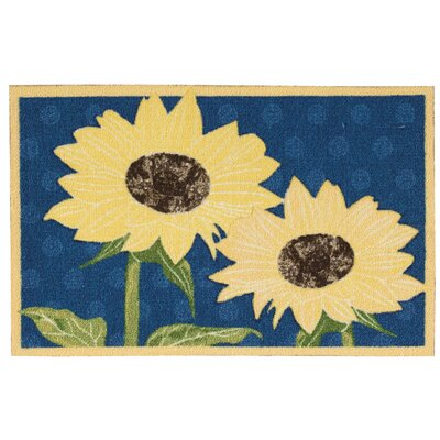 Reese Yellow/Blue Area Rug