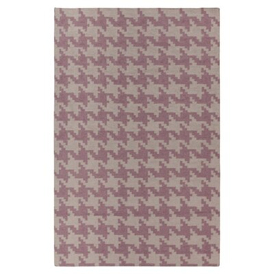 Atkins Elephant Gray/Twilight Mauve Area Rug Rug Size: 8 x 11
