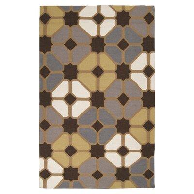 Atkins Charcoal Gray Geometric Area Rug Rug Size: Rectangle 9 x 13