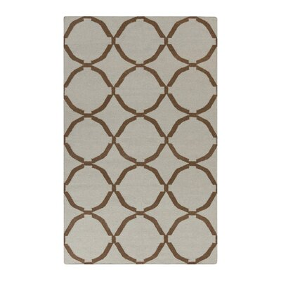 Atkins Elephant Gray Area Rug Rug Size: Rectangle 36 x 56
