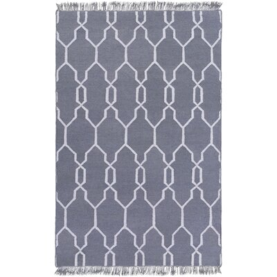 Larksville Hand-Woven Gray Outdoor Area Rug Rug Size: Rectangle 2 x 3