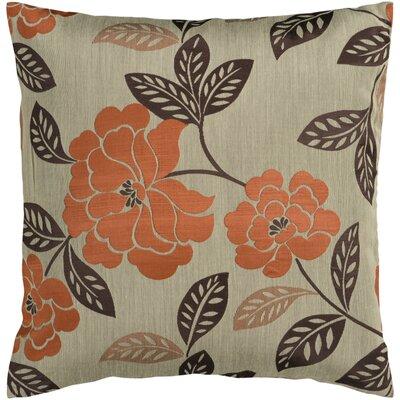 Nassau Throw Pillow Cover Size: 18 H x 18 W x 1 D