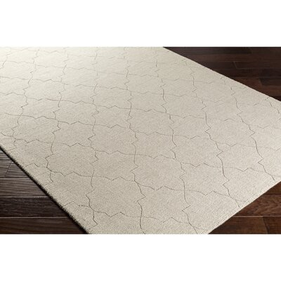 Swindell Medium Gray Area Rug Rug Size: Rectangle 5 x 76
