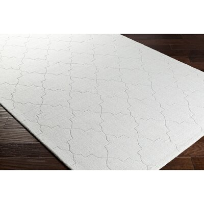 Swindell Hand-Loomed Gray Area Rug Rug Size: Rectangle 8' x 10'
