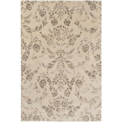 Danbury Neutral/Brown Area Rug Rug Size: Rectangle 51 x 76
