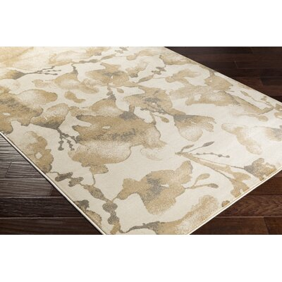 Falco Beige Area Rug Rug Size: Rectangle 710 x 1010