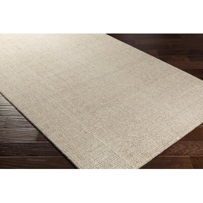 Darlington Hand-Tufted Beige Area Rug Rug Size: 2 x 3