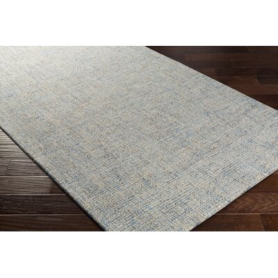 Darlington Hand-Tufted Gray Area Rug Rug Size: 8 x 10