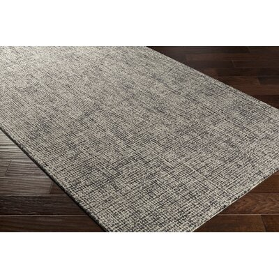 Darlington Hand-Tufted Gray Area Rug Rug Size: Rectangle 5 x 76