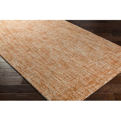 Darlington Hand-Tufted Orange Area Rug Rug Size: Rectangle 8 x 10