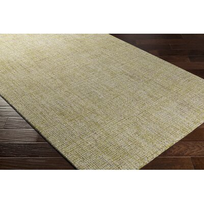 Darlington Hand-Tufted Beige Area Rug Rug Size: Rectangle 5 x 76