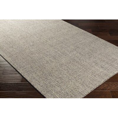 Darlington Hand-Tufted Gray Area Rug Rug Size: Rectangle 8 x 10