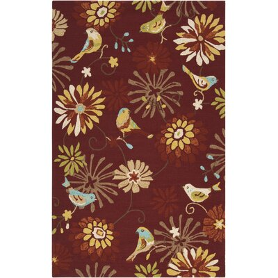 Schmitt Burnt Sienna Outdoor Rug Rug Size: Rectangle 5 x 8