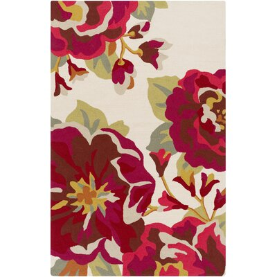 Schmitt Red Indoor/Outdoor Area Rug Rug Size: Rectangle 5 x 8