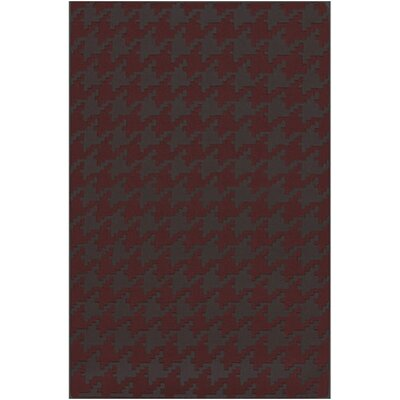 Atkins Houndstooth Area Rug Rug Size: Rectangle 5 x 8