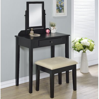 Percival Vanity Set with Mirror