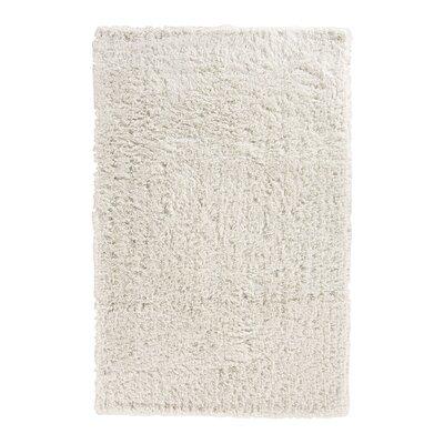 Pierce White Shag Area Rug Rug Size: 96 x 136
