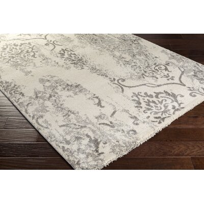 Fullerton Gray Area Rug Rug Size: Rectangle 79 x 108