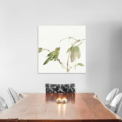 Sisken Painting Print on Wrapped Canvas