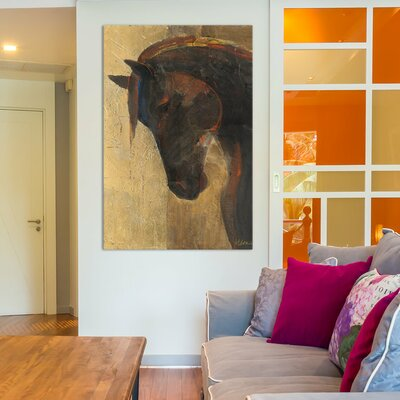 Trojan Horse II Painting Print on Wrapped Canvas