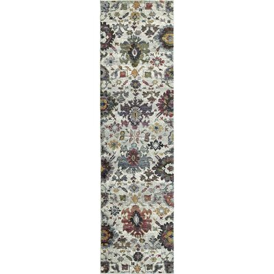 Gilman Oriental Gray Area Rug Rug Size: Runner 22 x 83