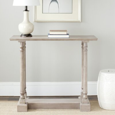 Grobbam Console Table Finish: Vintage Grey