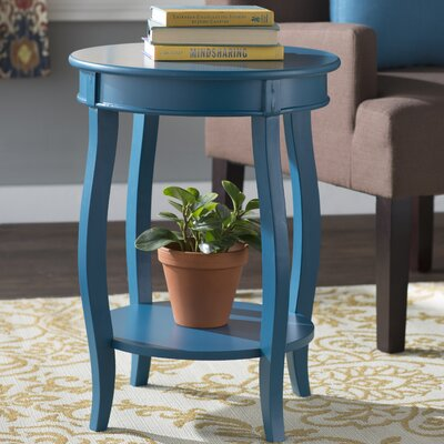 Axtell End Table Finish: Teal