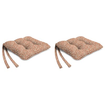 Indoor Chair Cushion Fabric: Coral Curl Coral Reef