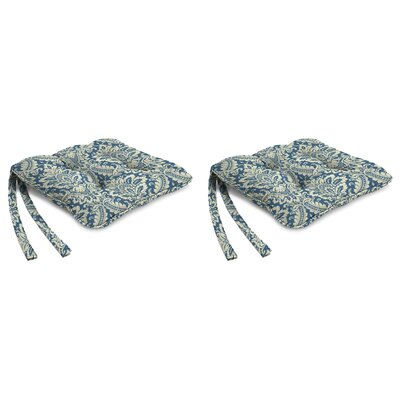 Indoor Chair Cushion Fabric: Donnington Cornflower