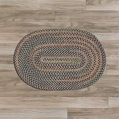 Kesterson Gray Area Rug Rug Size: Oval 2 x 12