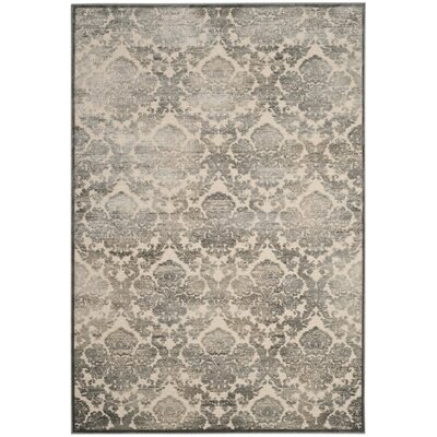 Orville Cream/Blue Area Rug Rug Size: Rectangle 2'7
