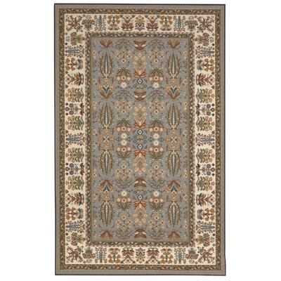 Renfrew Gray/Gold Area Rug Rug Size: Rectangle 8 x 10