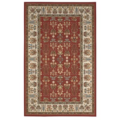 Renfrew Brown/Gold Area Rug Rug Size: 8 x 10