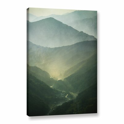 Sunrise Valley Photographic Print on Wrapped Canvas