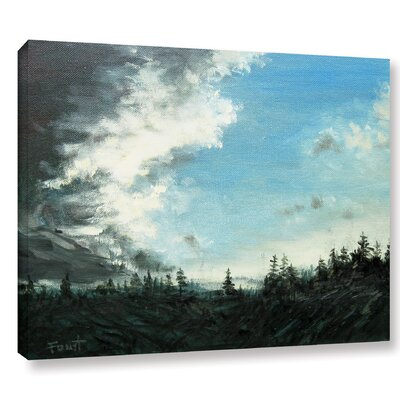 Gloom Painting Print on Wrapped Canvas Size: 14