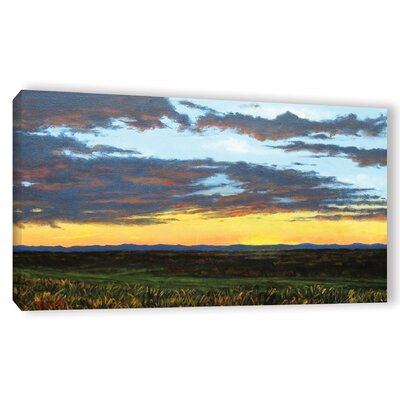 American Dream Painting Print on Wrapped Canvas Size: 12