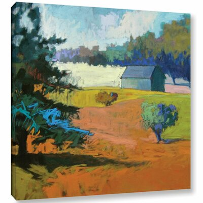 Paysage Cinq Painting Print on Wrapped Canvas Size: 10